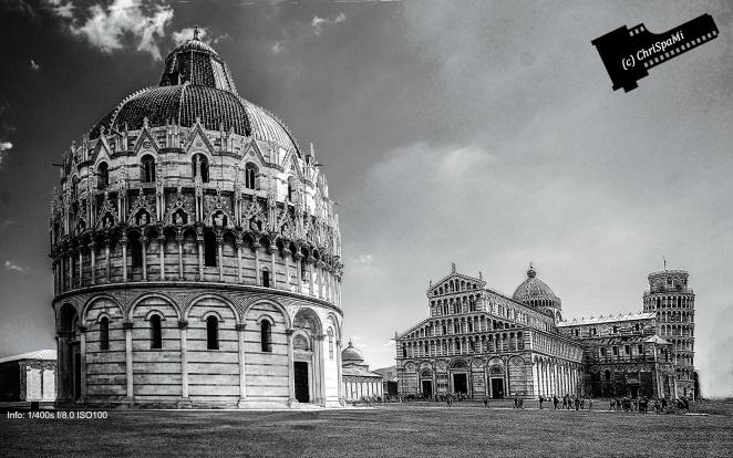 Pisa 2013 in Schwarz - Weiß