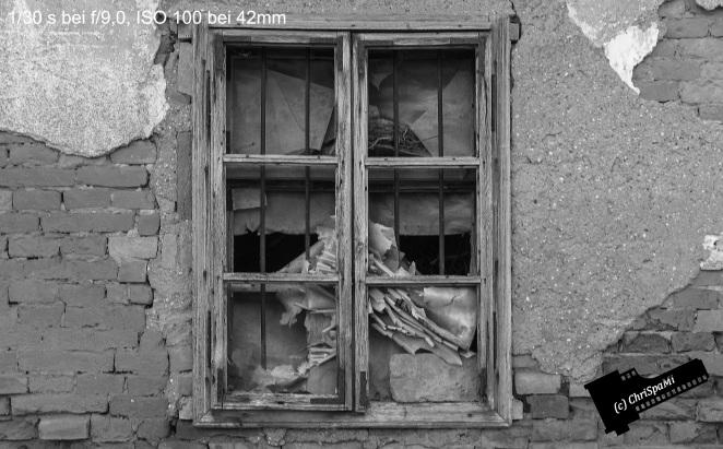 Das Fenster zum Hof.