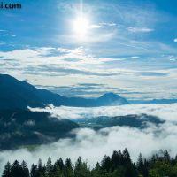 Wandern in Kärnten (1) - am Weissensee