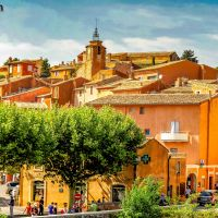 #Roussillon (Vaucluse) und der #Ocker