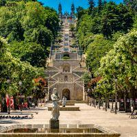 Die 613 Stufen von #Lamego, #Portugal
