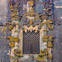 Das #Manuelinische_Fenster an der #Kreuzritterkirche, #Tomar