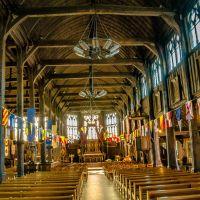 Die #Holzkirche in #Honfleur #Sainte_Catherine
