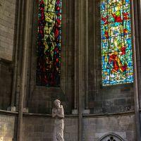 #Les_flammes - Statue der Jean d`Arc