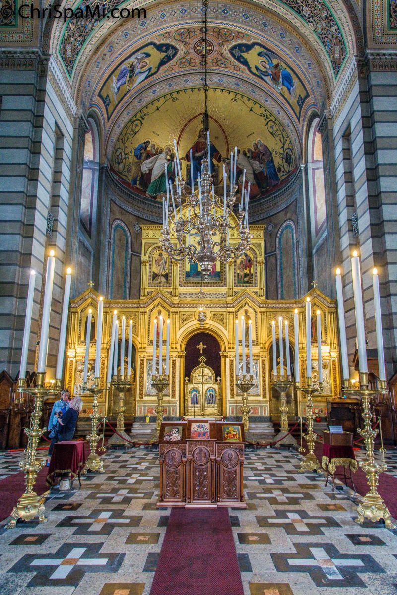 #Triest #Kirche der Dreifaltigkeit und des Hl. #Spyridon