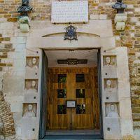 Die Fassade von #Kathedrale #San_Giusto in #Triest
