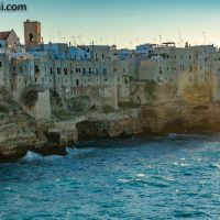 angekommen in #Polignano a Mare