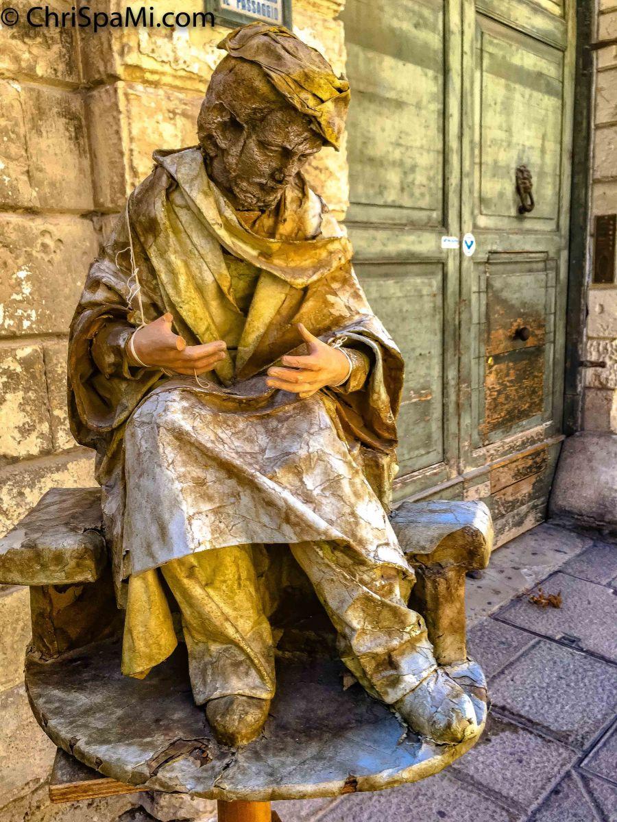 Die #Pappfiguren von #Lecce - #cartapesta