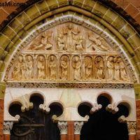 Die #Kirche und #Abtei von #Collonges-la-Rouge