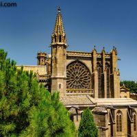 Die #Kathedrale von #Carcassonne