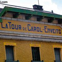 Der #Bahnhof von La Tour de Carol - Enveitg