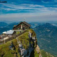 Am #Schafberg - die #Himmelspforthütte