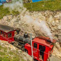 Auf den #Schafberg mit der #Zahnradbahn
