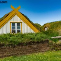 #Glaumbaer – die #Grassodenhäuser Islands