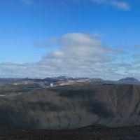 Vom großen Krater zu den weissen Bergen