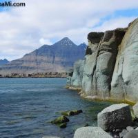 Die grünen Felsen von #Berufjörður