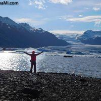 Das Paradies ist dort, wo du glücklich bist! - Vatnajökull Iceland