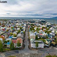 #Reykjavik von Oben